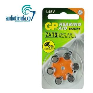Pilas para audifonos Gp batteries 13