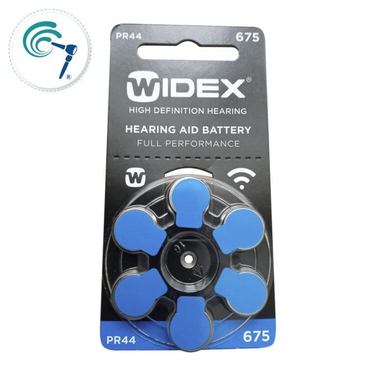 Pilas para audifonos widex 675