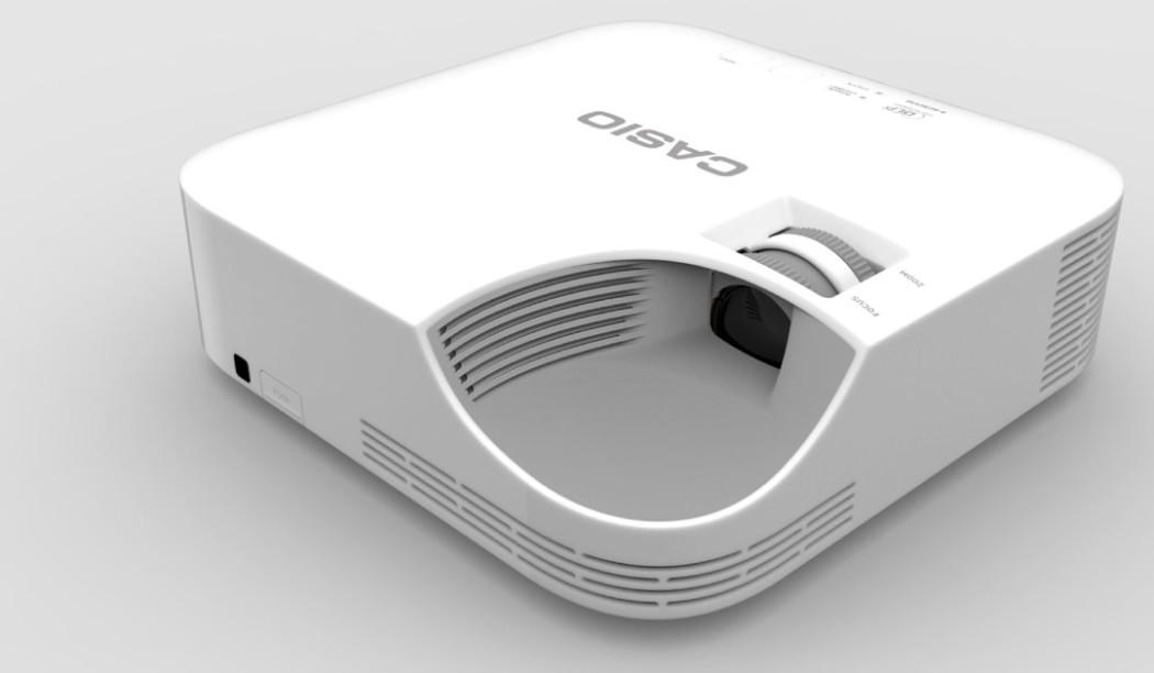 casio lanceert duurzame scherp geprijsde laser led projector model xj v1 beamer expert 39 s. Black Bedroom Furniture Sets. Home Design Ideas