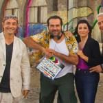 Alfonso Sánchez rueda la comedia 'Superagente Makey', con Leo Harlem y Silvia Abril