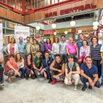 RTVE rueda en 1.200 metros cuadrados de platós la serie diaria 'Mercado central', producida por Diagonal TV
