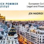 Abiertas las inscripciones para el curso sobre coproducción del Erich Pommer Institut que se celebra en Madrid