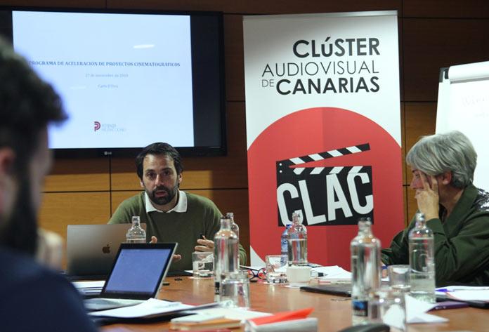 cluster audiovisual de canarias