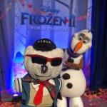 Raimundo Hollywood se queda congelado en el premieron de 'Frozen II'