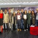 Marina SereseskyyCarlo d'Ursi, premiados en la primera edición del encuentroCoproducciones Europeas celebrado en Sevilla