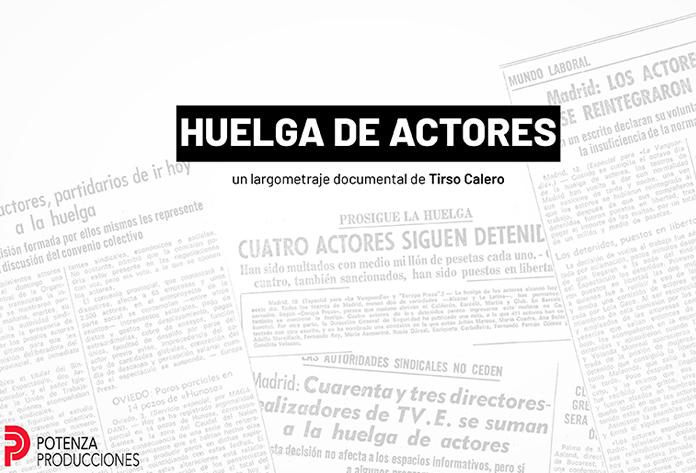 huelga de actores