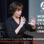 La Casa de América de Madrid acoge un seminario de guion para profesionales impartido por la mexicana Paz Alicia Garciadiego