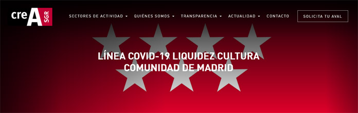 Crea SGR Comunidad de Madrid
