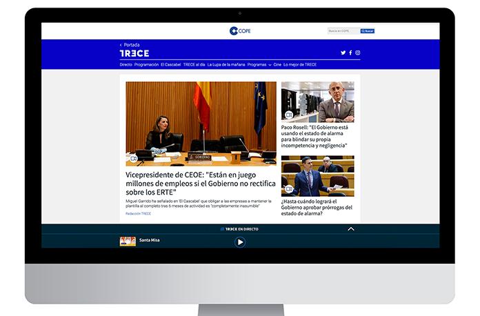 TRECE nueva web