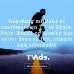 Nace TVADS, nueva agencia de publicidad centrada en anunciantes de presupuesto reducido