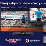 Eurosport Player se incorpora a la oferta de Vodafone TV
