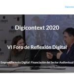 El impacto de la crisis sanitara en el sector audiovisual, en el primer Encuentro Digital de DIGICONTEXT