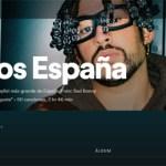 Por primera vez un artista de habla hispana lidera la lista de Spotify como el más escuchado del año