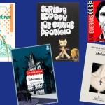 Las obras de 'Rodando páginas' (segunda parte): 'Las guerras correctas', 'Las niñas prodigio', 'Malasangre', 'Telefónica' y 'Vivan los hombres cabales'