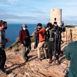 Canal HISTORIA graba su nueva serie documental, 'Piratas en Baleares', con dos productores asociados en el archipiélago
