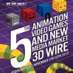 3D Wire 2013 abre el plazo de inscripción de cortos y videoclips de animación y crea una sección competitiva