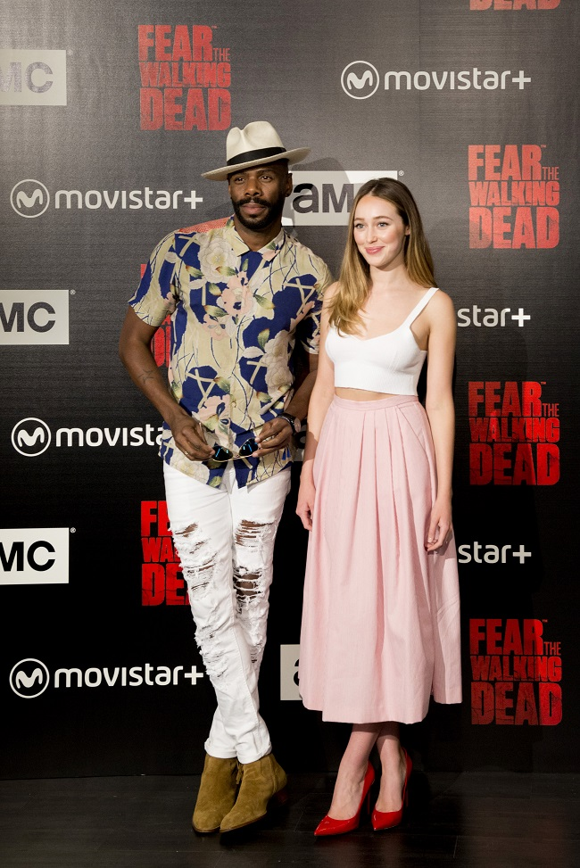 Alycia Debnam-Carey y Colman Domingo AMC