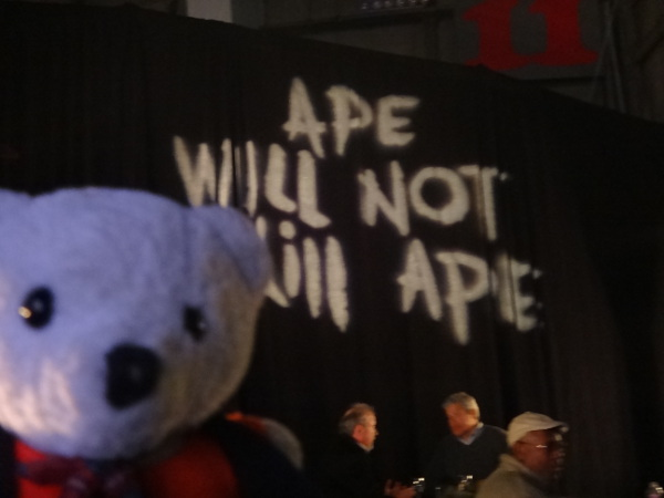 Apes 2014 Raimundo Hollywood eslogan