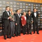 'Campeones' se convierte en la mejor película de la 33ª edición de los premios Goya y 'El Reino', en la más premiada