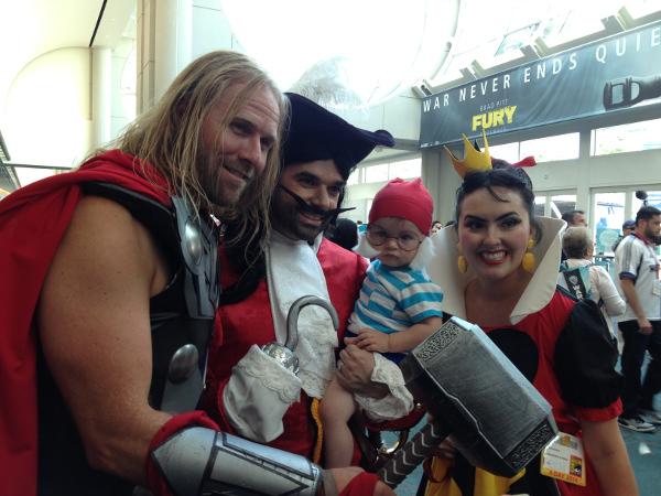 Comic Con 2014 disfraces 6