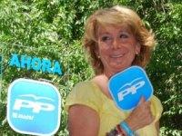 Esperanza Aguirre, presidenta de la Comunidad de Madrid