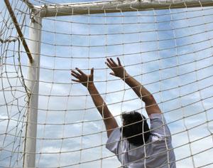 Futbol-porteria