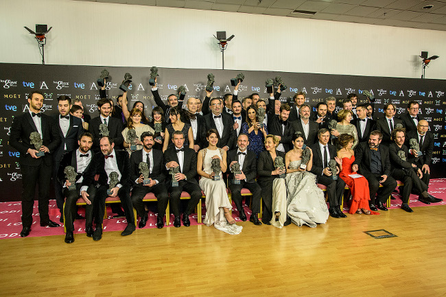 Goya 2015 Foto de familia