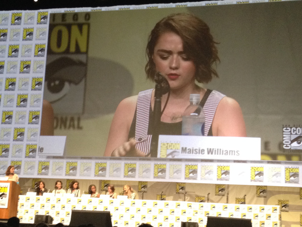 Maisie Williams Comic Con 2014