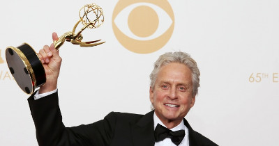 Michael Douglas Emmy Behind the candelabra