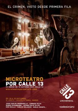 Microteatro Calle 13 d