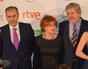 Miguel Angel Benzal Ministro Cultura Premios Forque 2016