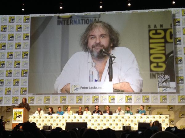 Peter Jackson Comic Con 2014