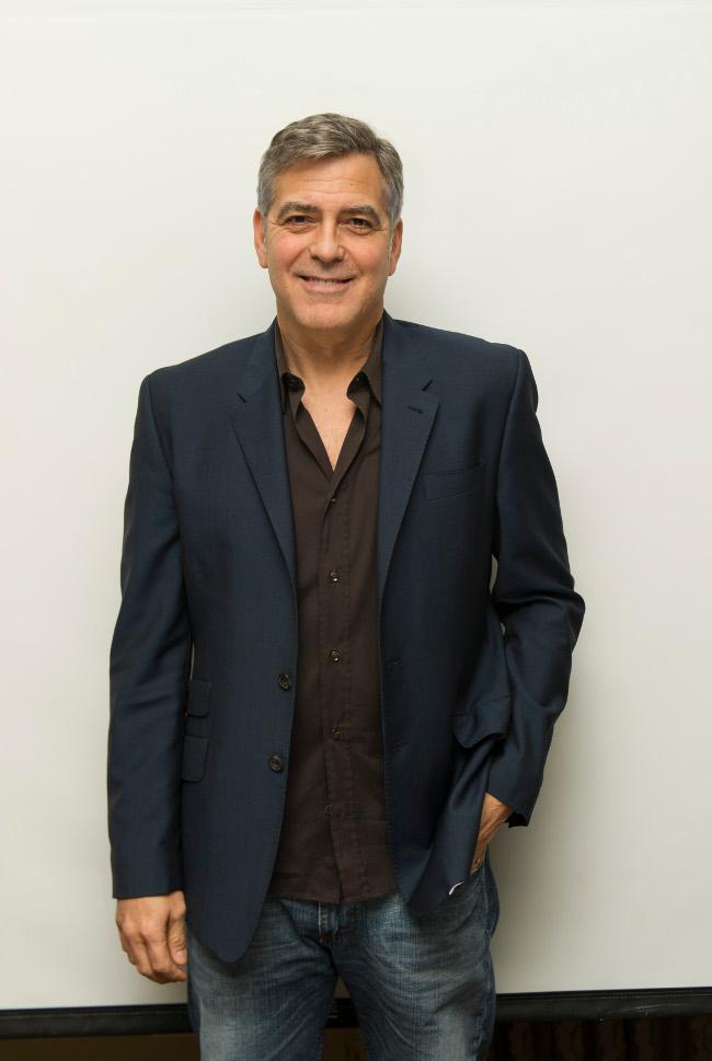 George Clooney. Photo: Magnus Sundholm for the HFPA