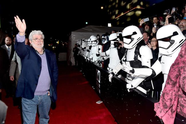 Raimundo Hollywood Star Wars 2015 George Lucas
