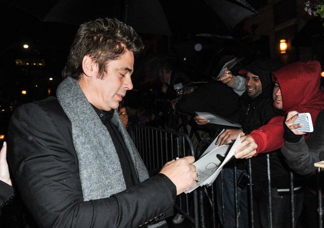 Raimundo Hollywood Toronto 2015 Benicio del Toro
