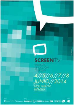 Screen TV 2014 cartel