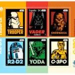 Correos celebra el 40 aniversario de 'Star Wars' con un sello especial