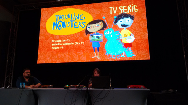 Troubling Monsters Cartoon Forum 2014