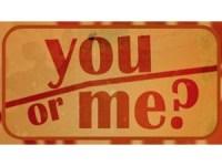 You or me Boomerang