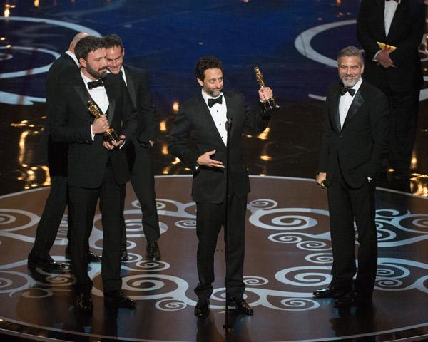 Ben Affleck, Grant Heslov y George Clooney