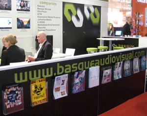 Stand de Basque Audiovisual, en Mip TV 2013