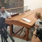 Elena Cid rueda el documental 'Bécquer y las Brujas'