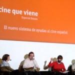 """El nuevo sistema de ayudas al cine a debate: """"mejorar el tejido industrial y acercar el cine español al público"""""""