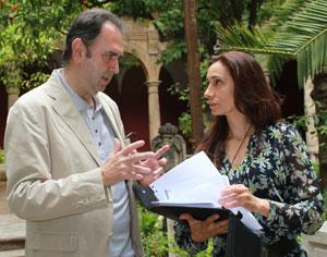 Enrique Viciana y Rossana Pastor