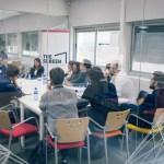 Los productores de los cinco proyectos de La Incubadora de la ECAM se se reúnen con compradores de televisión y plataformas digitales
