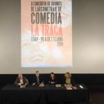 Se presenta en Madrid la segunda edición del concurso de guiones de largometraje de comedia 'La Traca'