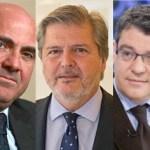 Méndez de Vigo, De Guindos y Nadal, los ministros del audiovisual del nuevo gobierno