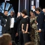 'Moonlight', Oscar a la mejor película tras anunciarse por error el premio para 'La la land'