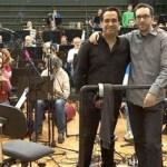La Orquesta Sinfónica de Tenerife graba la banda sonora de 'Atrapa la bandera'