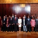 Los Reyes de España reciben a representantes del Clúster Audiovisual de Canarias